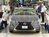 Toyota Builds First Lexus ES in Ky.
