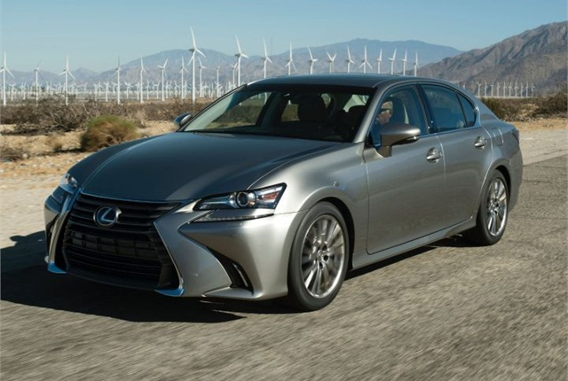 Photo of 2016 GS 200t courtesy of Lexus.