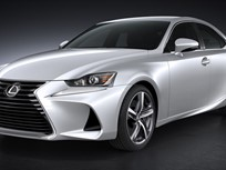 Lexus Shows Revamped IS Sedan