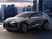 Lexus LF-NX SUV Concept Gets Turbo Four