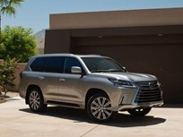 Lexus Refreshes LX Luxury SUV for 2016