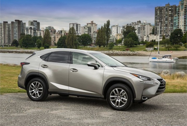 2015 lexus nx compact suv offered in hybrid model news automotive fleet. Black Bedroom Furniture Sets. Home Design Ideas