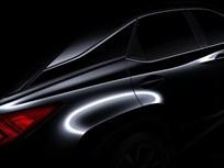 Lexus Teases Next-Gen RX Luxury SUV