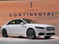 2017 Lincoln Continental Brings 'Quiet Luxury'
