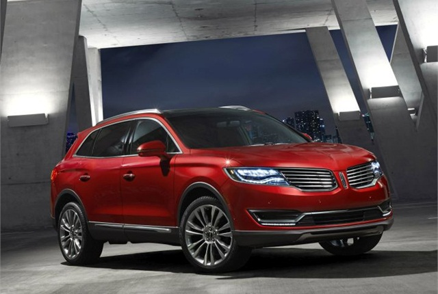 Photo of 2016 MKX luxury SUV courtesy of Lincoln.
