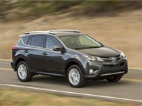 Toyota Recalls RAV4 SUVs for Seat Belt Issue