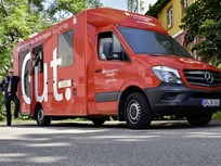 Mercedes-Benz Sprinter Used as German Mobile Bank Branch