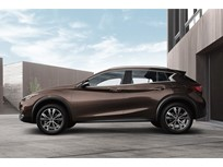 Infiniti QX30 Recalled for Air Bags