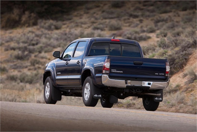 Toyota issued 15 recalls in 2013, including one affecting 3,795 2013-2014 model-year Tacoma trucks. Photo: Toyota.