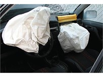 Truck Hauling Takata Air Bag Parts Explodes