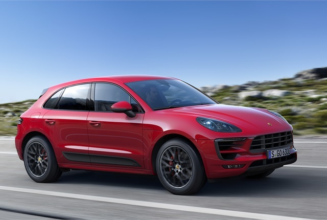 Photo of Porsche Macan GTS courtesy of Porsche.