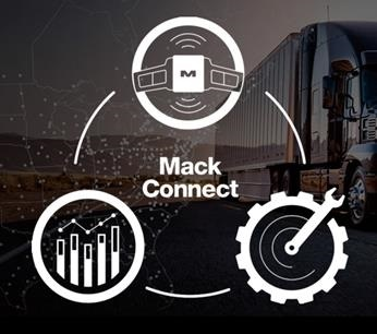 <p><strong>Mack Connect is a suite of tools designed to help customers and drivers manage productivity and profitability.</strong> <em>Images: Mack Trucks</em></p>