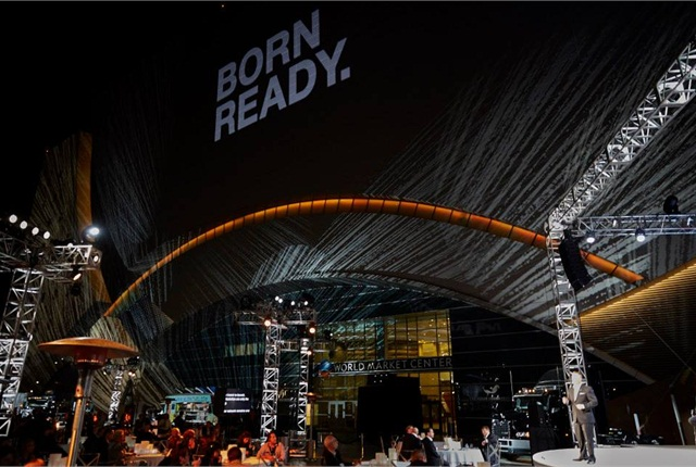 """The new tagline, """"Born Ready,"""" is unveiled."""