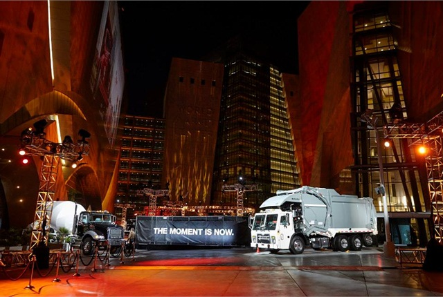 The move was announced during a big event for customers, dealers and trade press at the ConExpo/Con-Agg show in Las Vegas.