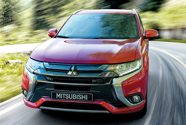 Photo of the Outlander PHEV courtesy of Mitsubishi Motors.