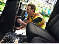 Facebook's Zuckerberg Checks Out Dearborn Truck Plant
