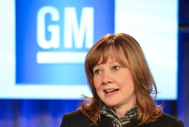 Photo of Mary Barra courtesy of GM.