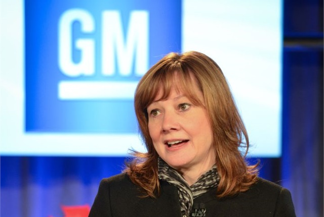 Photo of Mary Barra courtesy of GM.