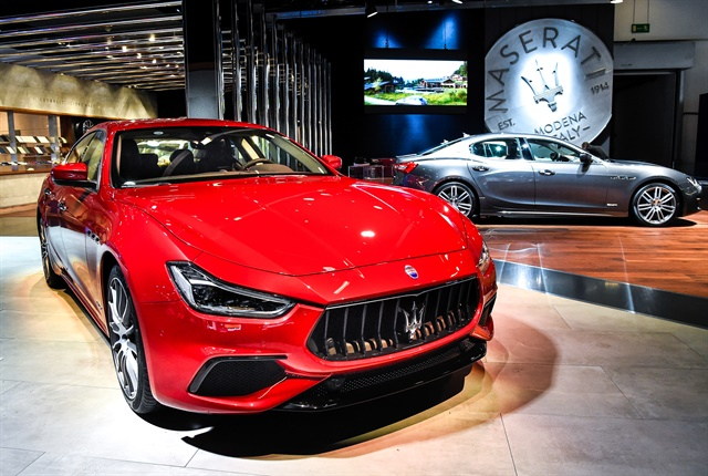 Photo of 2018 Ghibli courtesy of Maserati.