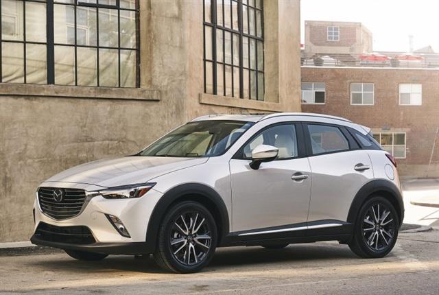 Photo of 2018 CX-3 courtesy of Mazda.
