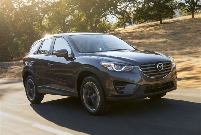 Photo of 2016.5 CX-5 courtesy of Mazda.