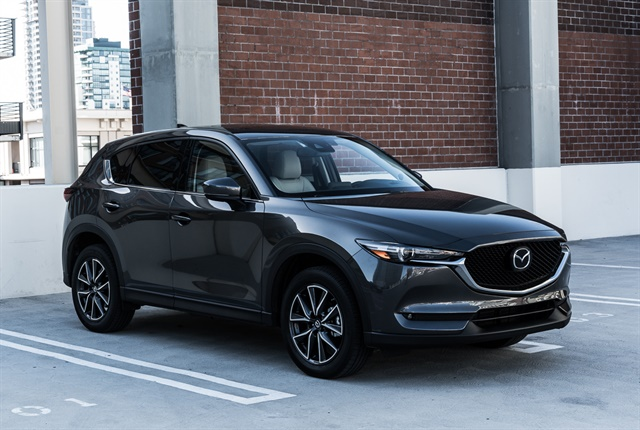 Photo of 2018 CX-5 courtesy of Mazda.