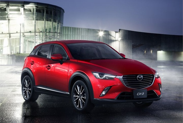 Photo of CX-3 courtesy of Mazda.