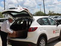 Mazda Donates Vehicles to the Red Cross