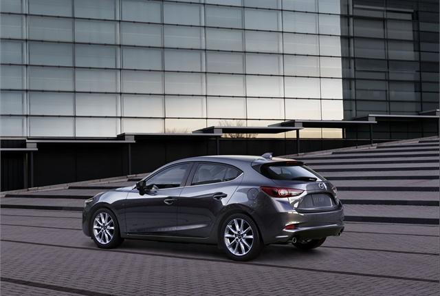 Photo of Mazda3 courtesy of Mazda.