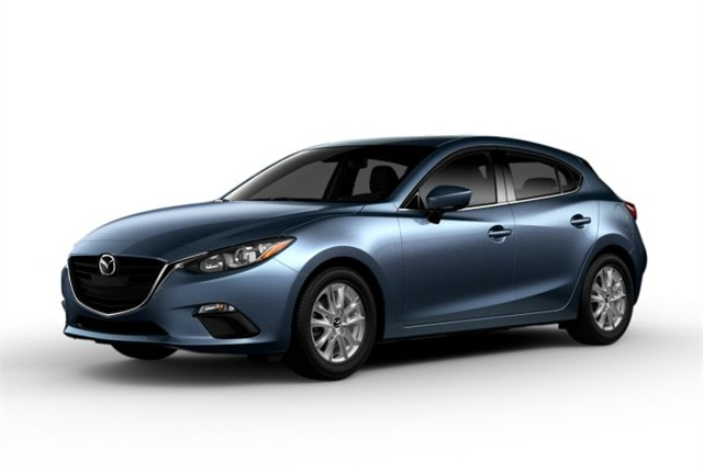 Photo of 2015 Mazda3 courtesy of Mazda.