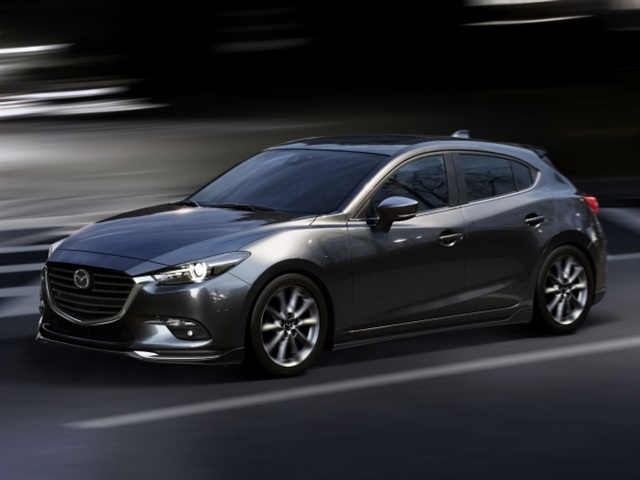 Photo of 2017 Mazda3 courtesy of Mazda.