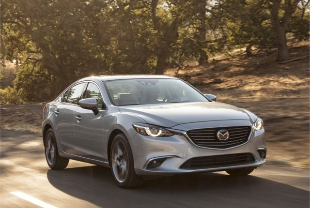 Photo of 2016 Mazda6 courtesy of Mazda.