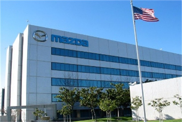 Mazda North American Operations is among the automakers involved in the Takata airbag inflator recalls. Photo of Irvine, Calif., headquarters courtesy of Mazda.