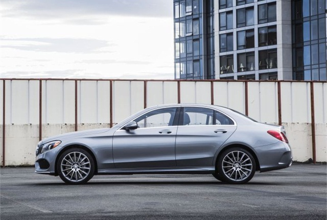 Photo of 2015 C-Class sedan courtesy of Mercedes-Benz.