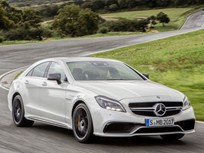 Mercedes-Benz Redesigns Four-Door CLS Coupe