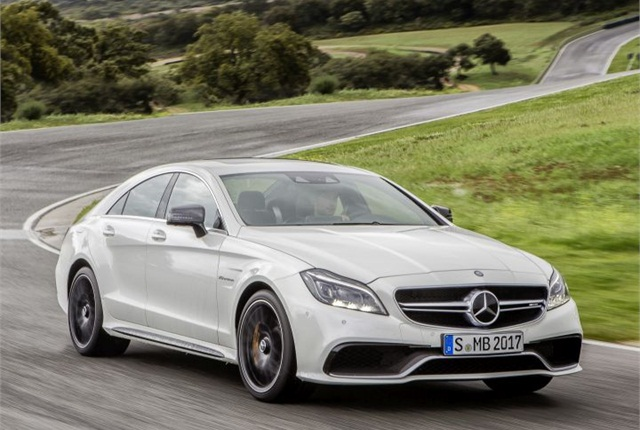 Photo of 2015 CLS-Class courtesy of MBUSA.