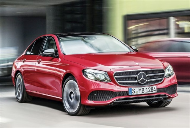 Photo of 2017 E-Class courtesy of Mercedes-Benz.