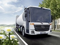 Mercedes-Benz Updates Natural Gas Econic Truck