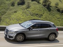 Mercedes-Benz GLA250 Compact SUV Goes on Sale