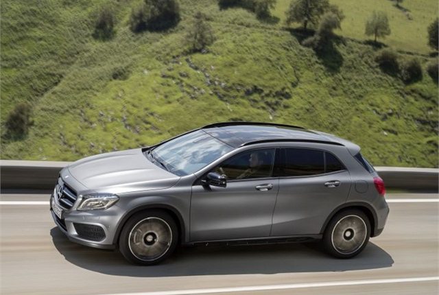 Photo of 2015 GLA250 courtesy of MBUSA.