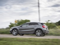 Mercedes-Benz GLA Upgrades Tech for 2017