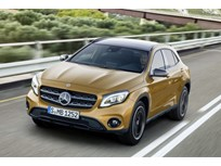 Mercedes-Benz Tweaks GLA for 2018