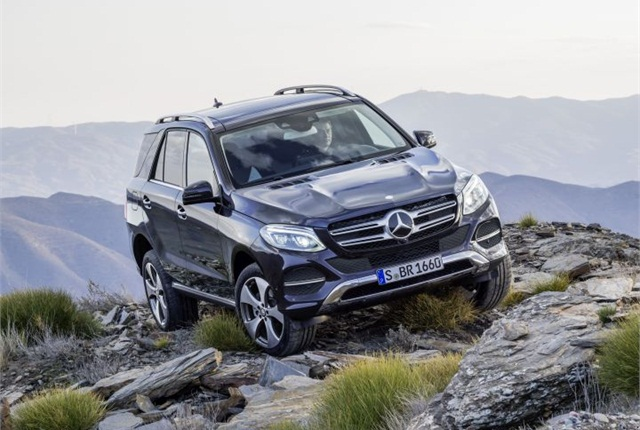 Photo of the 2016 GLE-Class (Euro spec) courtesy of MBUSA.