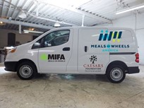Foundation Donates Delivery Van to Meals on Wheels
