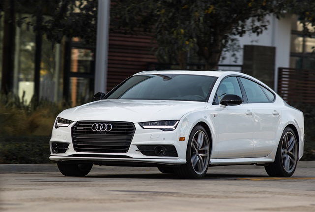 Photo of Audi A7 courtesy of Audi.
