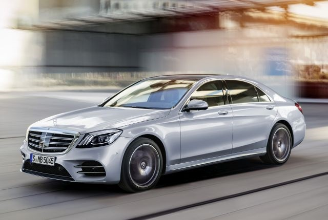 Photo of 2018 S-Class courtesy of Mercedes-Benz.
