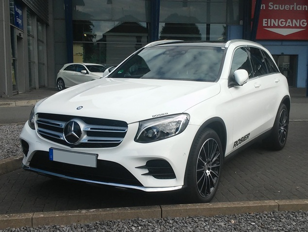 Photo of 2016 Mercedes-Benz GLC via Wikipedia.