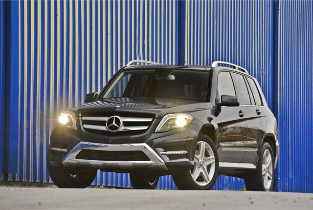 The GLK250 Bluetec 4MATIC version of Mercedes' GLK features a diesel powertrain. Photo courtesy Mercedes.