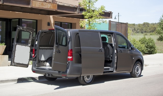 Photo of 2016 Metris cargo van courtesy of Mercedes-Benz USA.