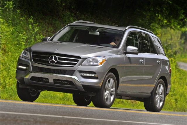 Photo of 2012 ML-350 4MATIC courtesy of Mercedes Benz.